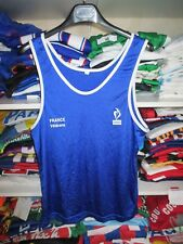 Débardeur équipe de FRANCE vétérans athlétisme running sprint course shirt XL
