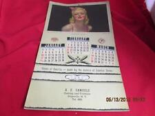 A.E. Samuels Clothing & Footwear Vintage 1943 43 Calendar