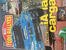 MAGAZINE TODO RALLYES  N°81 RALLY WRC PORTUGAL CITROEN LOEB ANNEE 2007 98 PAGES