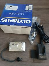 Olympus Stylus 500 Digital 5.0MP Digital Camera - Silver - All Weather