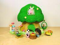Sylvanian Families Fairy Baby Tree House Bilberry Lena Bobo Mallory Henry Set