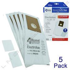 5 Microfibre Vacuum Bags + 2 Filters For Electrolux Type E82 ES82 U82 9001968438
