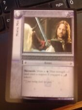 Lord of the Rings CCG Ents of Fangorn 6C53 Mortal Men X2 LOTR TCG
