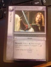 Lord of the Rings CCG Ents of Fangorn 6C53 Mortal Men X2 LOTR TCG