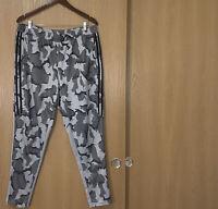 Adidas Tiro 17 Camo Training Pants DT5384 Mens Size US XL Gray Black