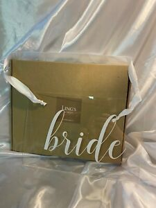 Acrylic Chair Signs - Bride & Groom NEW [Open Box]