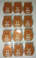 NEW! LOT OF 12 SCENTSY BARS CLOVE & CINNAMON~BROWN~PRIORITY SHIPPING~CHRISTMAS
