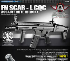 New Academy FN SCAR-L CQC Airsoft Gun Rifle #17110 Black Model Kit Scale Fn