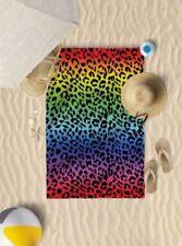 Toallas de baño y albornoces sin marca color principal multicolor de microfibra