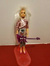 Jem & The Holograms Roxy Misfits Doll Glitter Guitar