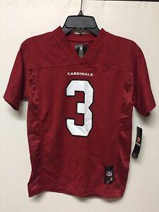 Carson Palmer #3 Arizona Cardinals NFL Jersey Boys Size 8 New with Tag