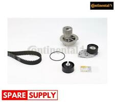 WATER PUMP & TIMING BELT SET FOR CHEVROLET DAEWOO CONTINENTAL CTAM CT887WP2