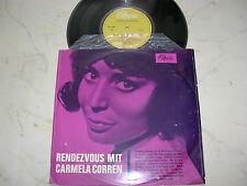 "CARMELA CORREN Rendesvous mit *RARE 10"" OPERA LABEL*"