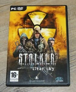Stalker Prologue : Clear Sky PC DVD Computer Video Game Complete