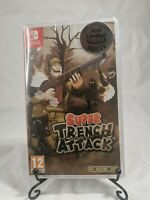 Super Trench Attack for Nintendo Switch BRAND NEW AND SEALED Limited Run Rare