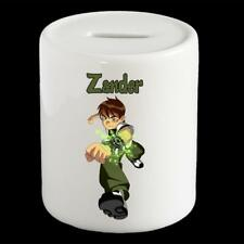 Personalised Ben 10 money box, Ben Ten piggy bank