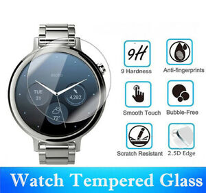 Round Smart Watch Tempered Glass Screen Protector Film for Samsung Huawei Garmin