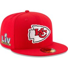 New Era Kansas City Chiefs 59FIFTY Super Bowl LV Bound Side Patch Fitted Hat Cap