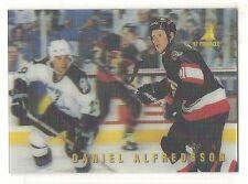 1996-97 Pinnacle McDonald's Ice Breakers - #9 - Daniel Alfredsson - Senators
