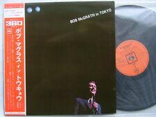 BOB McGRATH IN TOKYO / WITH OBI COMPLETE  1967