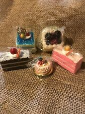 New In Package Fake Petit Fours Theatre Prop Display Pieces