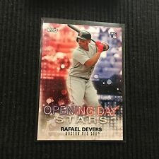 2018 TOPPS OPENING DAY RAFAEL DEVERS OPENING DAY STARS BOSTON RED SOX