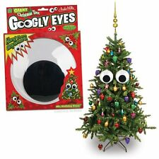 Christmas Tree Giant Googly Eyes Decorations, Indoor, Outdoor Ornament