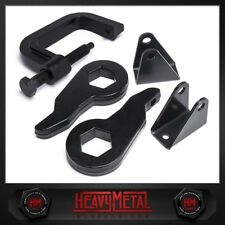 "Silverado Sierra 2500HD 3500HD 00-10 3"" Front Leveling Lift Kit + Torsion Tool"