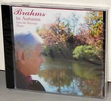 SHEFFIELD Lab CD SL10077: BRAHMS in Autumn, Piano Music - MAYORGA - 2007 SEALED