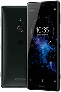 """Sony Xperia XZ2 64GB LTE 4G Android Handy Smartphone 5,7"""" 4K HDR 19 MPX schwarz"""