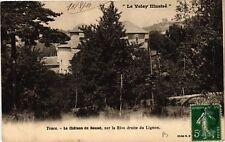 CPA  Tence - Le Cháteau du Besset, sur la Rive droite du Lignon (658194)