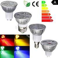 GU10/E27/MR16/E14 3 LED Light Lamp Bulb Spot light AC 220V