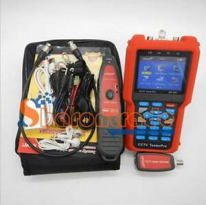 1PC New Pro CCTV Cable Tester Analog&CVBSSignal,cabletestertracker NF-707