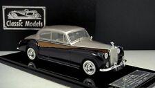 """1/43 Rolls Royce 1961 Phantom V James young 2 door """" Hers """" ( Gold / Deep Blue)"""