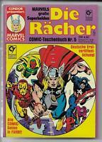 Die Rächer Nr.5 von 1981 - TOP Z0-1 CONDOR MARVEL SUPERHELDEN COMIC-Taschenbuch