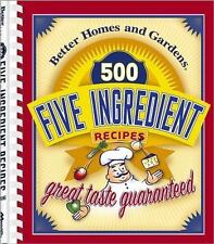 500 Five Ingredient Recipes by Better Homes and Gardens (2002)