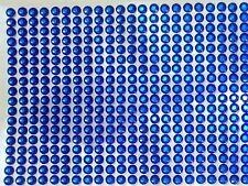 390 STRASS ADESIVI COLORE BLU  5 mm CORPO UNGHIE NAILART DECORAZIONI