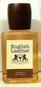 ENGLISH LEATHER Authentic Body Splash 3.4 oz unbox by DANA CLASSIC FRAGRANCES