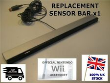 OFFICIAL genuine NINTENDO Wii SENSOR BAR Wii & WII U - Wired INFRARED Receiver