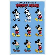 DISNEY MICKEY AND MINNIE MOUSE HEARTS POSTER 24x36 NEW FREE SHIPPING