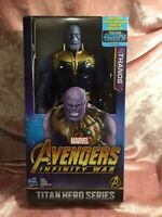 "THANOS Marvel Infinity War Titan Hero Series Power FX Action Figure 12"" - NEW!!!"
