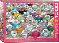 Eurographics  1000 Piece Jigsaw Puzzle  - Tea Cups  EG60005314