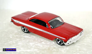 Hot Wheels '61 Chevy Impala [Set Exclusive/Red] - New/Loose/VHTF [E-808]