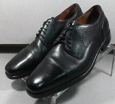 152431 MS50 Men's Shoes Size 10 M Black Leather Lace Up Johnston & Murphy