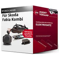 Für Skoda Fabia Kombi II Typ 5J Elektrosatz 13polig spezifisch Esatz inkl. EBA