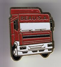 RARE PINS PIN'S ..  CAMION TRUCK WAGEN SCANIA TRANSPORTS BEAU COUHE VERAC 86 ~C9