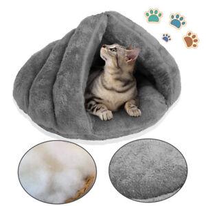 Lightweight Cat Pet House Sleeping Bed Puppy Cave Warm Nest Super Soft Mat Pad