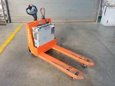 Toyota Electric Pallet Jack 4500 Lbs 24 Volt Built In Charger Model 7Hbw23