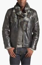 New! Marc New York by Andrew Marc 'Ryder' Leather Moto Jacket Black Sz M Biker