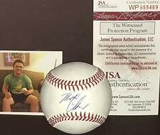Michael Chavis Boston Red Sox Signed Baseball JSA WITNESS COA